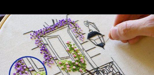 Yeni Başlayanlar için El Nakışı Pencere Yapılışı