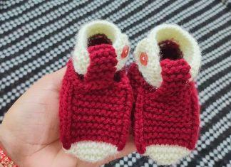 Şiş Örgü Bebek Patikleri Yapılışı