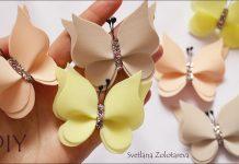 Kelebek Saç Bandı Yapımı
