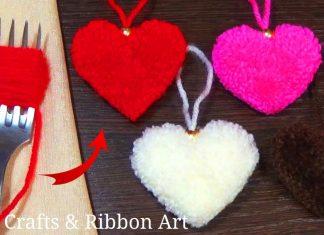 Ponpon Kalp Nasıl Yapılır?