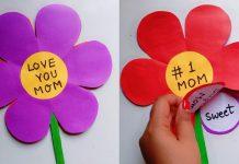 Okul Öncesi Anneler Günü Hediyesi