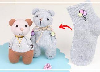Çoraptan Ayıcık Yapımı