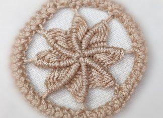 Dantel Anglez Çiçek Yapımı