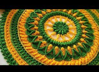 Mandala Örgü Lif Yapılışı
