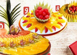 Meyve Tabağı Hazırlama Örnekleri
