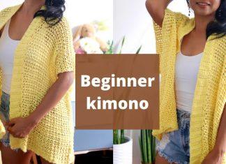 Örgü Kimono Yapılışı