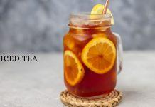 Evde Limonlu Ice Tea Yapımı