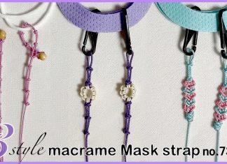 Makrome Maske Askısı Yapımı