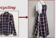 Eski Gömlekten Önlük Nasıl Yapılır?